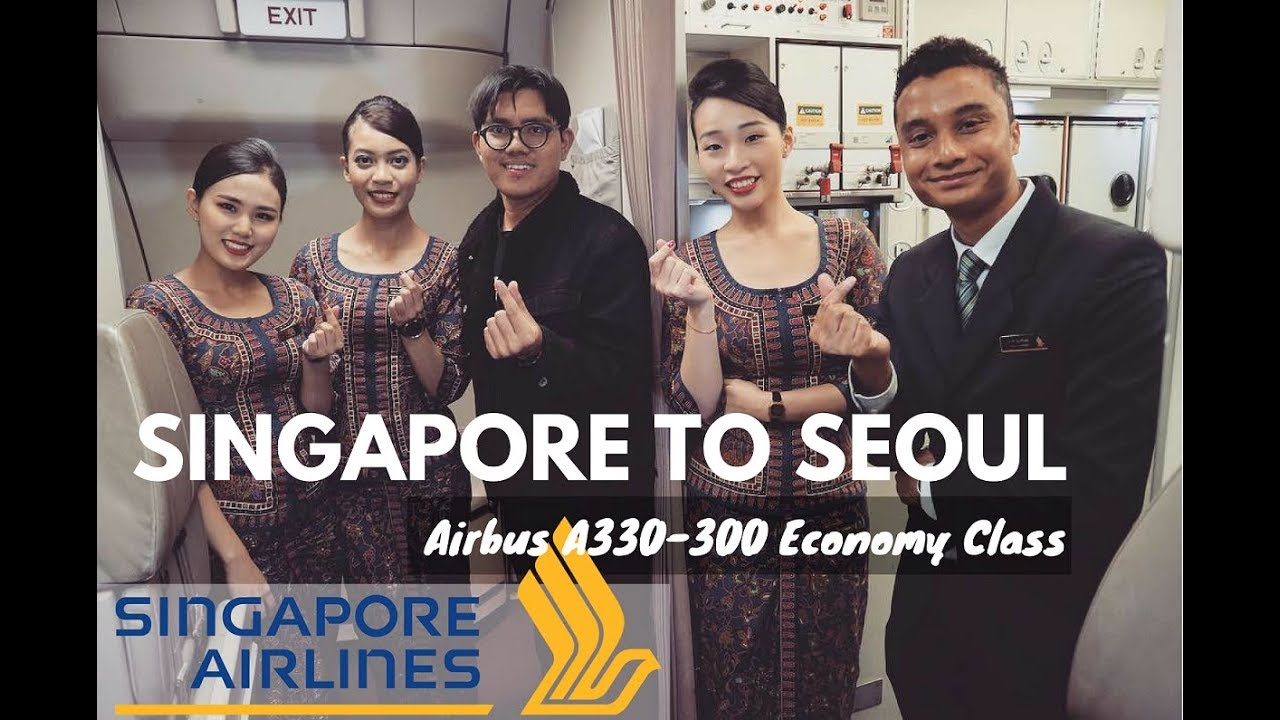 Singapore Airlines – Airbus A330 (9v-sto) Flight Sq446