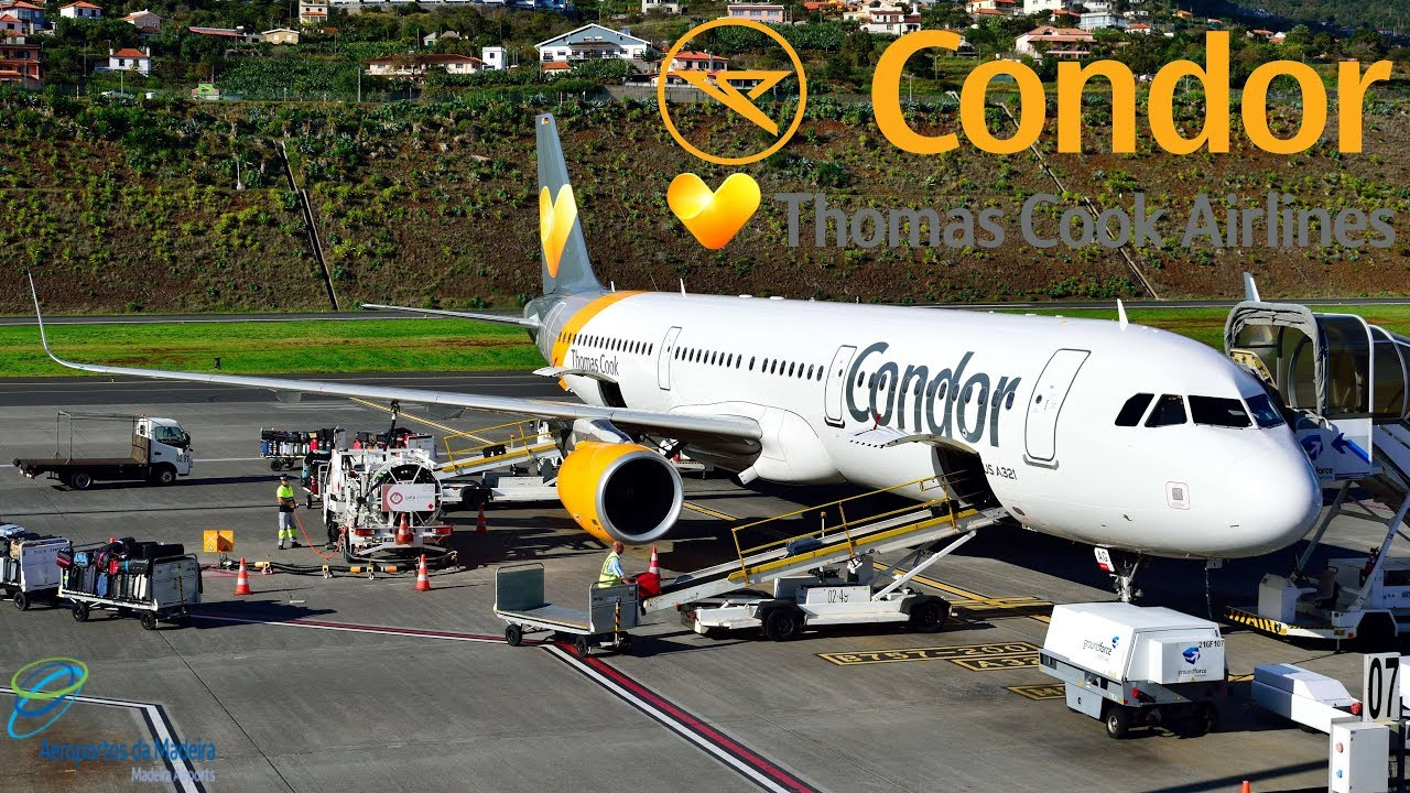 Airtours – Airbus – A321-211 (g-volh) In Funchal